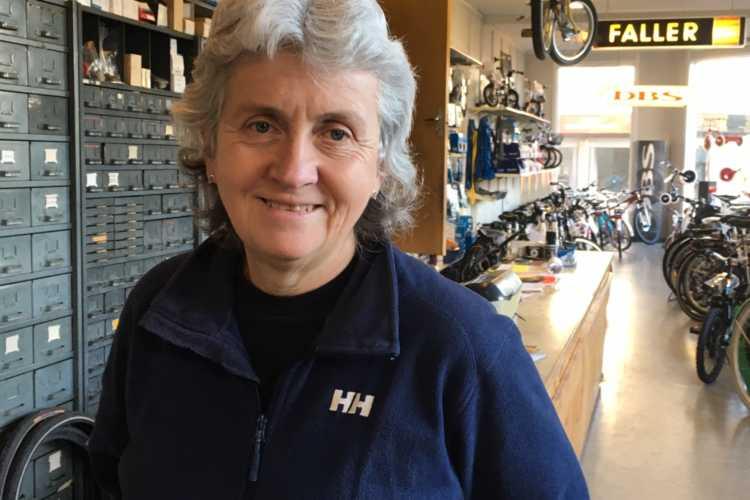 Sykkelgudinne Kjersti Gudheim Pedersen