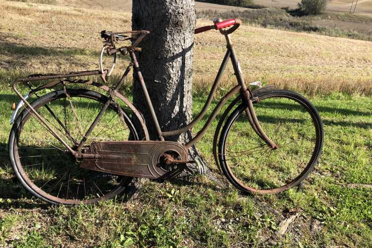 rusten sykkel